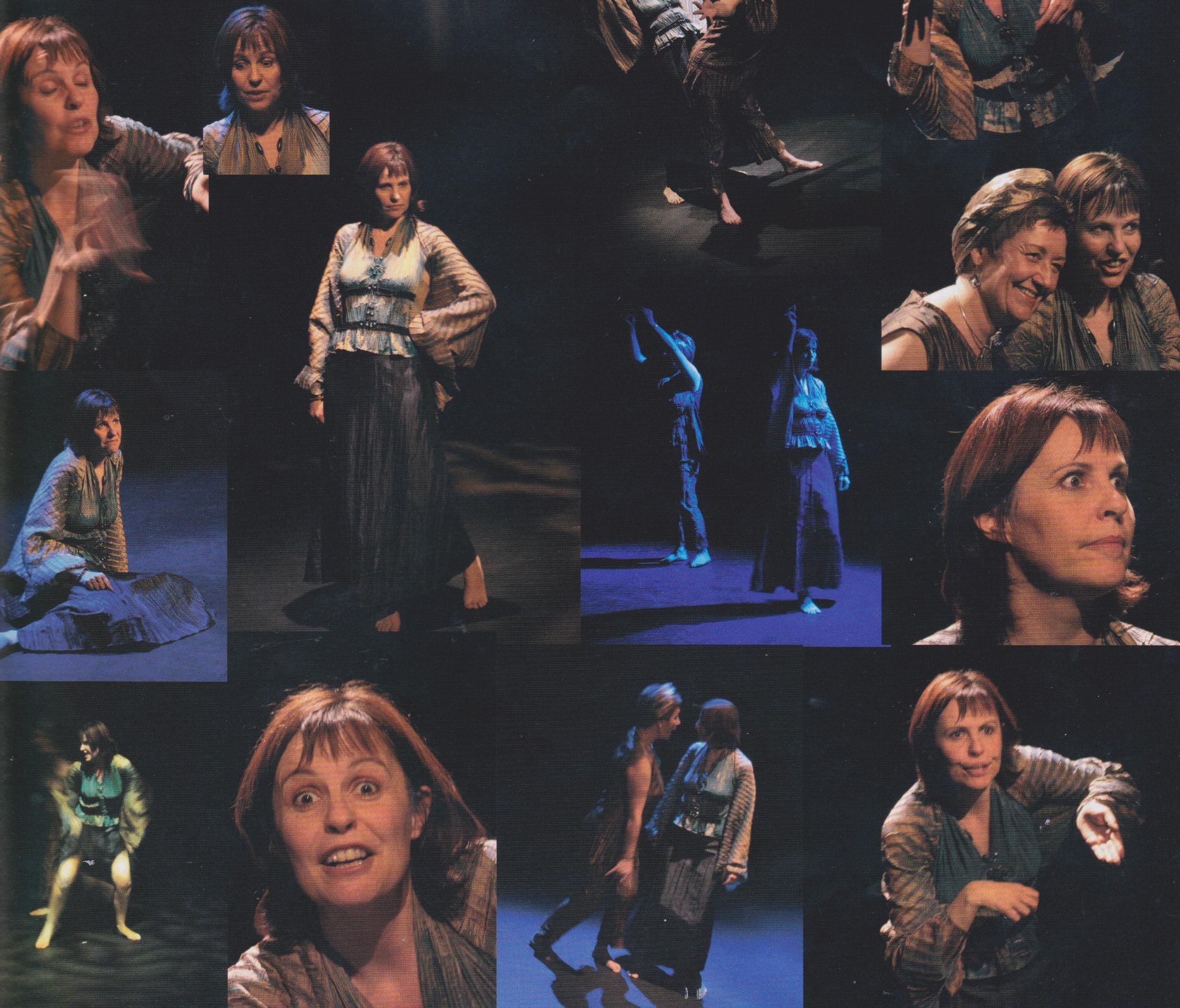 Hélène Guers sur scène pour Voie de Fée au Théâtre d'O à Montpellier