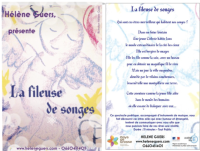 illustration contes la fileuse de songes