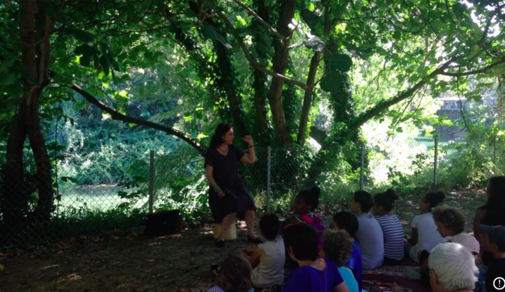 Partir en lire parc rimbaud mille cocottes à kilukru hélène Guers conte